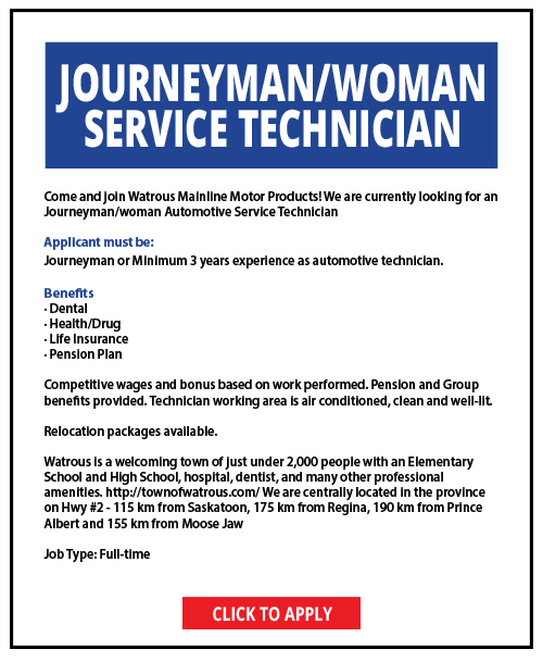 Wanted Service Tech